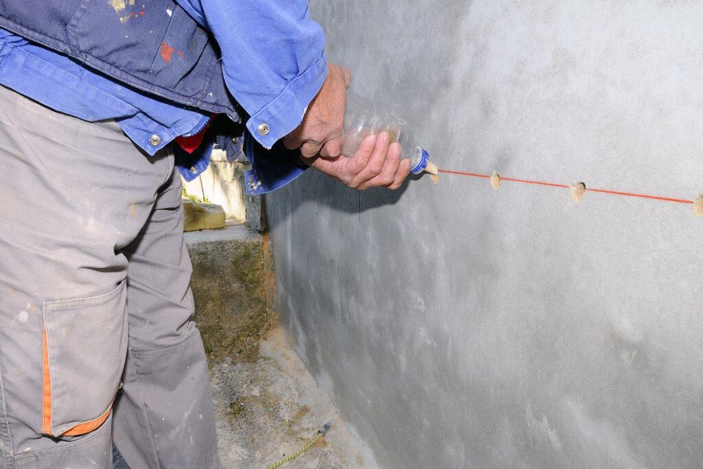 injecter mur contre remontee capillaire humidite expert. Black Bedroom Furniture Sets. Home Design Ideas